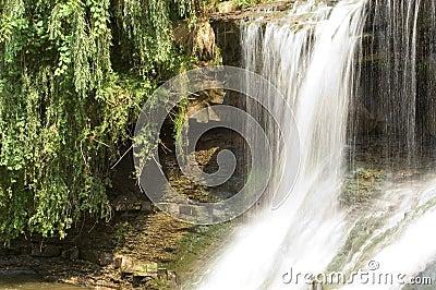 Cachoeira, movimento borrado