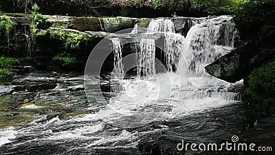 Cachoeira no laço da angra de Dunloup