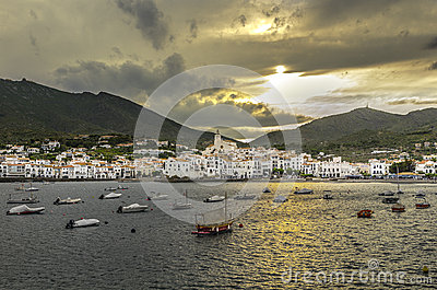 Cadaques, Spain - fisherman village