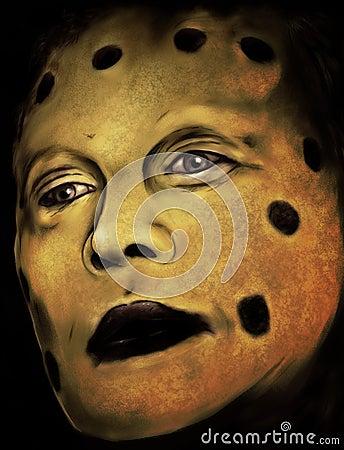Caddo Face