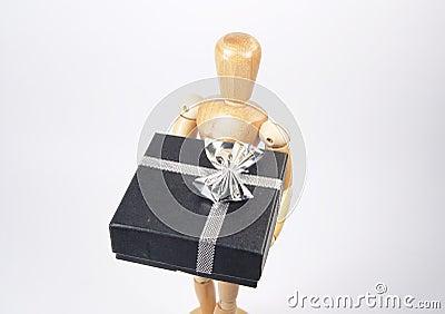 Cadeau de fixation de mannequin d art