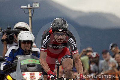 Cadel Evans, USA Pro Cycling Challenge Editorial Photo