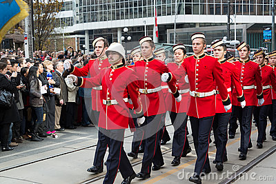 Cadets Parade Editorial Stock Image