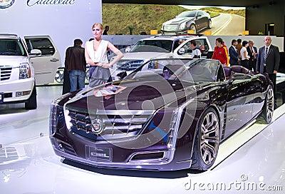 Cadillac concept Ciel Editorial Stock Image