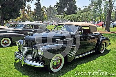 Cadillac Coupe Convertible Editorial Stock Photo