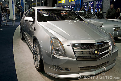 Cadillac CTS Coupe Concept Editorial Photography