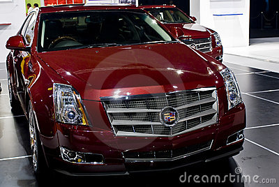 Cadillac CTS - Grille - MPH Editorial Photo