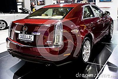 Cadillac CTS - Rear Left Third - MPH Editorial Photo