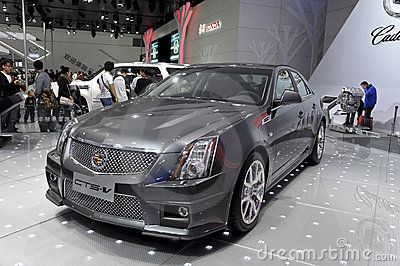 Cadillac CTS-V Editorial Stock Photo