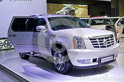 Cadillac Escalade Platinum Editorial Photography