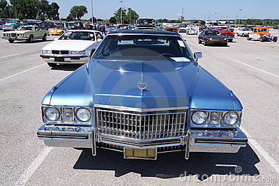 Cadillac Fleetwood Sixty Special Editorial Image
