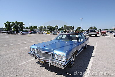 Cadillac Fleetwood Sixty Special Brougham Editorial Image