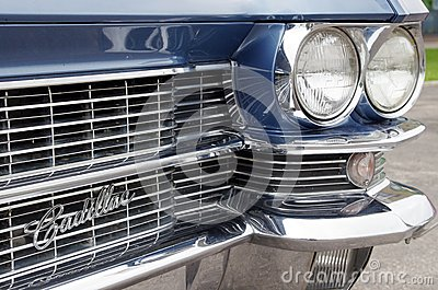 Cadillac fleetwood Special 60 Editorial Stock Photo