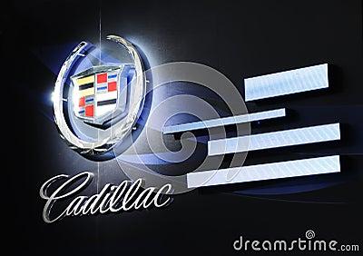Cadillac Logo on Cadillac Logo Hupeng Dreamstime Com