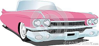 Cadillac rosado