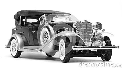 Cadillac V16 Sport Phaeton 1932, greyscale