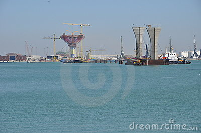 Cadiz New Bridge Royalty Free Stock Images - Image: 11577499
