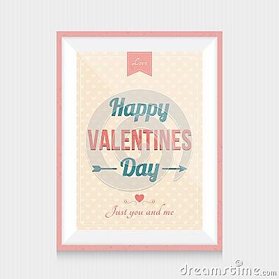 cadre de jour de valentines illustration de vecteur image 61782056