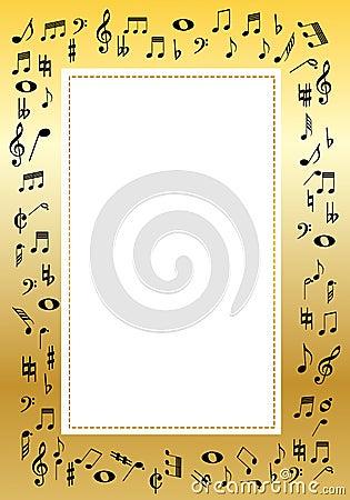 Cadre de musique