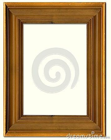 Cadre de tableau en bois de pin photo libre de droits for Image de cadre de tableau