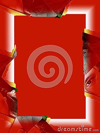 Cadre : Oeil rouge