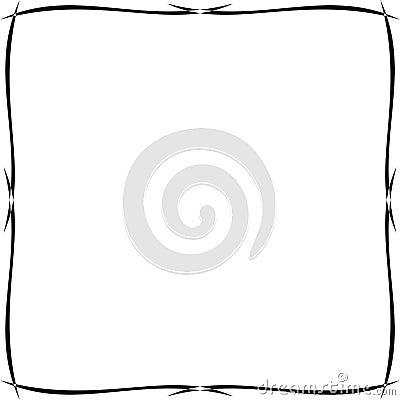 cadre ornemental simple image libre de droits image 8237266. Black Bedroom Furniture Sets. Home Design Ideas