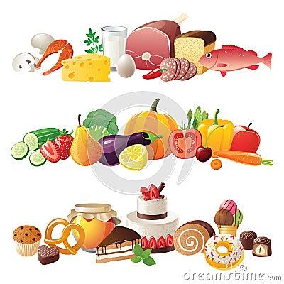 Cadres de nourriture