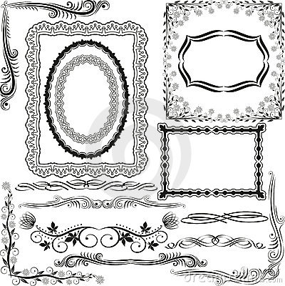 Cadres et coins