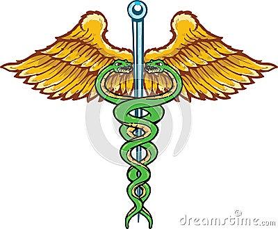 Caduceus the symbol of healing