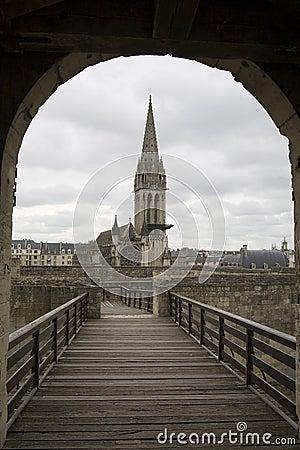 Caen In France