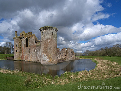 Caerlaverock Castle, Dumfries and Galloway, Scotla