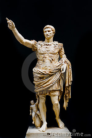 Caesar Augustus Editorial Photography