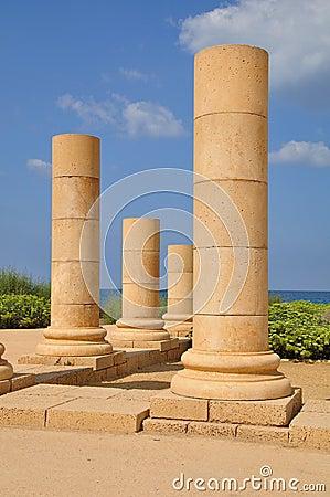 Caesarea columns.