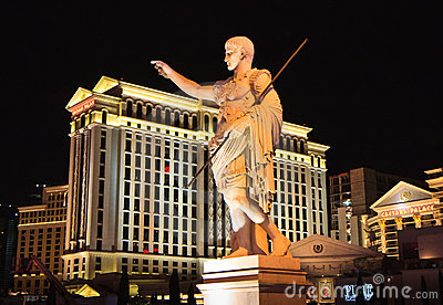 Caesars Palace hotel and casino, Las Vegas Editorial Stock Photo