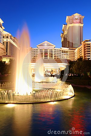 Caesars Palace of Las Vegas Editorial Stock Photo