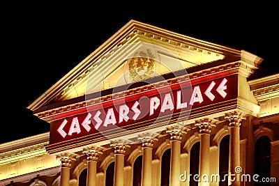 Caesars Palace Las Vegas Editorial Photo