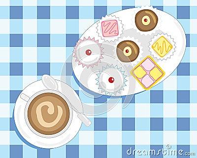 Café e bolos