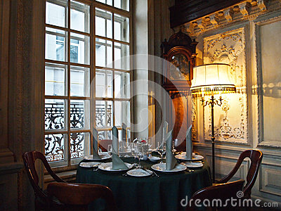 Café Pusjkin Editorial Stock Photo