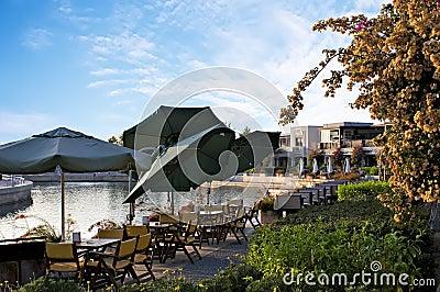 Cafe in Bodrum Marine