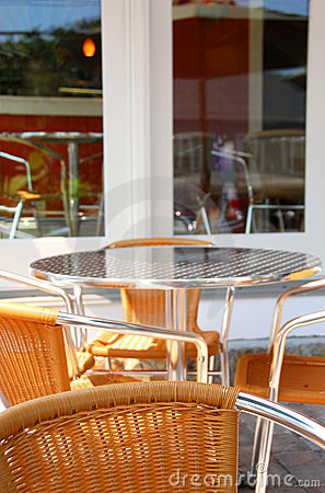 Free Cafe Patio Stock Images - 1721714