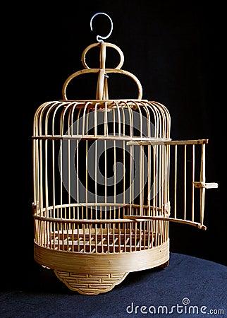 cage d 39 oiseau photo stock image 13921960. Black Bedroom Furniture Sets. Home Design Ideas