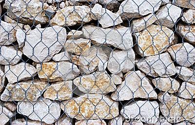 Cage of stones