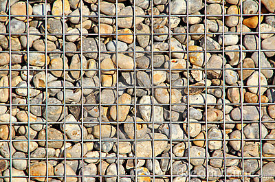 Caged pebbles