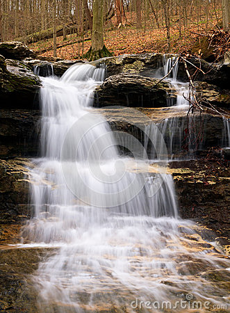 Free Cagle S Mill Dam Waterfall, Indiana Stock Photos - 30436903