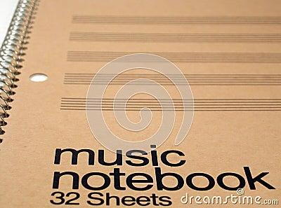 Cahier générique de musique