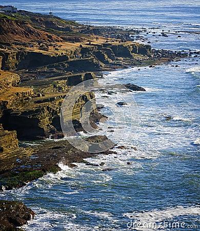 Free Caifornia Coast, San Diego, California Royalty Free Stock Photos - 23471118