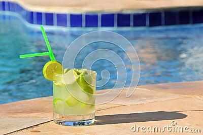 Caipirinha at pool