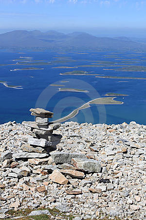 Free Cairn On Croagh Patrick Royalty Free Stock Image - 16556126