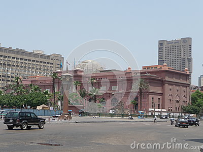 Cairo Museum Editorial Stock Image