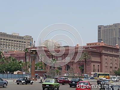 Cairo Museum Editorial Stock Photo